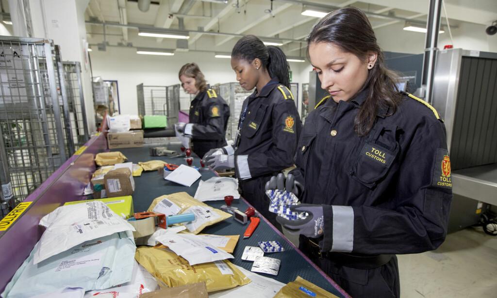 HYPPIG: Tolletaten finner stadig flere piratkopierte varer i det som kommer til landet. Foto: Tolletaten