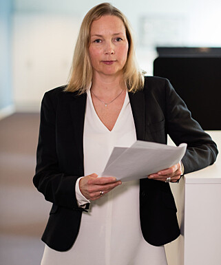 KYNISK: De kriminelle blir stadig mer utspekulerte, fastslår Hedvig Bengston, seniorrådgiver i Patentstyret og prosjektleder for Velgekte.no. Foto: Patentstyret
