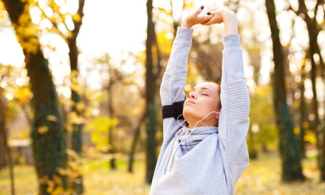 AKTIV LIVSSTIL: Spis litt mindre, men oppretthold aktivitetsnivået, er ekspertenes råd for en varig vektnedgang, FOTO: NTB Scanpix