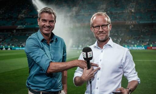 VETERANER: TV 2s Petter Myhre og Øyvind Alsaker scorer høyt. Foto: TV 2