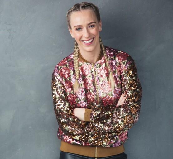 «IDOL»: For mange er Katarina Flatland kjent som programleder for «Jakten på kjærligheten». Fra høsten skal hun i stedet lede «Idol» på TV 2. Foto: TV 2