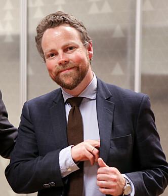 VIL SATSE PÅ KVINNER: Næringsminister Torbjørn Røe Isaksen ønsker at flere kvinner skal satse som gründere, og at vi skal få flere kvinnelige ledere. FOTO: Nærings- og fiskeridepartementet