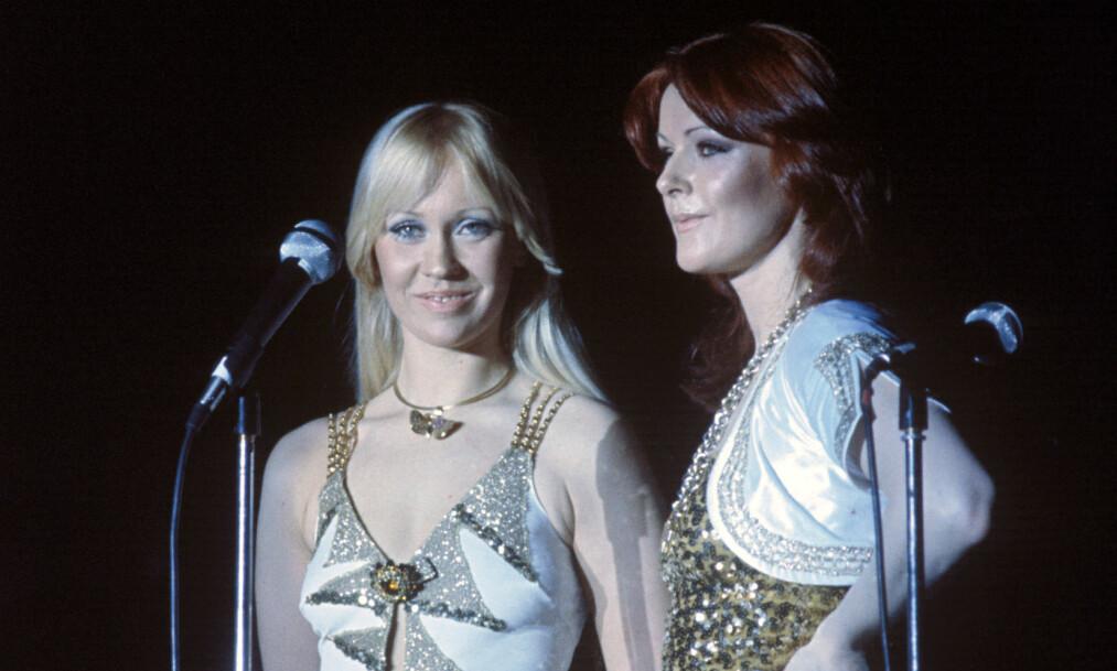 SUPERSTJERNER: Agnetha Fältskog og Anni-Frid Lyngstad utgjorde den kvinnelige delen av Abba, et karrierevalg som virkelig har båret frukter. I dag lever begge i luksus, på hver sine måter. Foto: NTB Scanpix