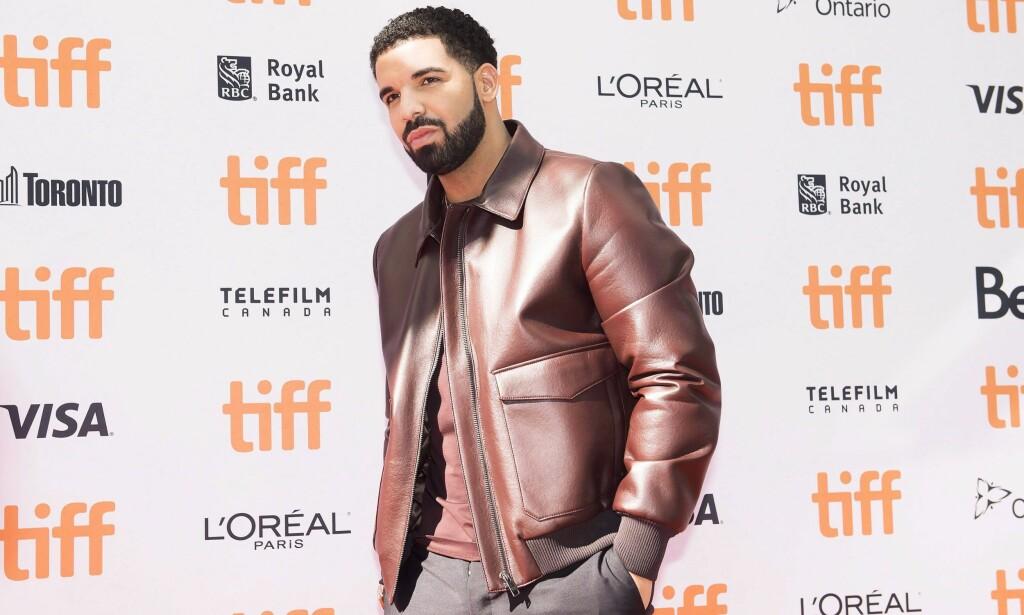 AVSLØRING: Aubrey Drake Graham, bedre kjent som Drake, har gjort stor suksess som rapartist verden over. I fjor ble han far til en liten gutt. Foto: NTB Scanpix