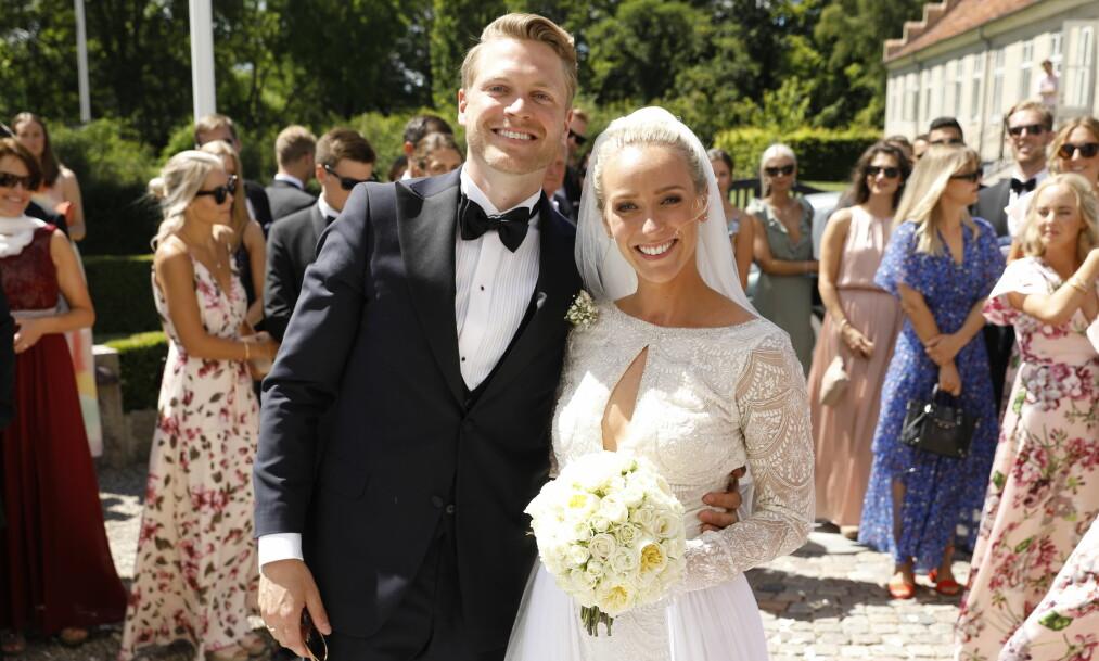 GIFT: I dag kunne Katarina Flatland og Harald Dobloug gi hverandre sitt «ja» i et storslått bryllup i Danmark. Foto: Espen Solli/ Se og Hør.