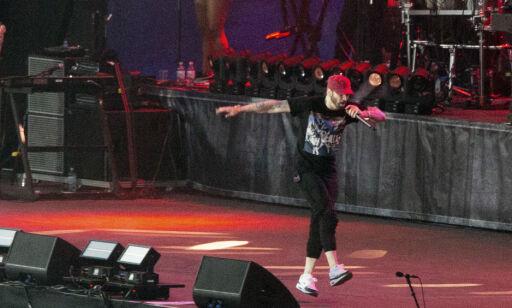 image: Eminem nekter å fotograferes. Konsertnabo raser