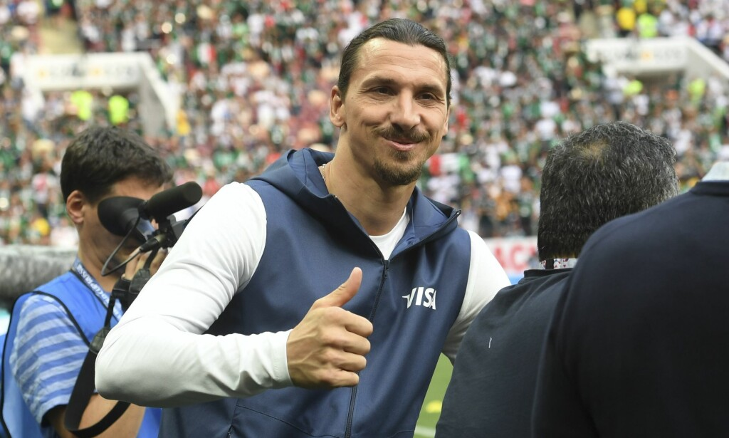 SCORET TO: Zlatan Ibrahimovic. Foto: AFP PHOTO / Francisco LEONG