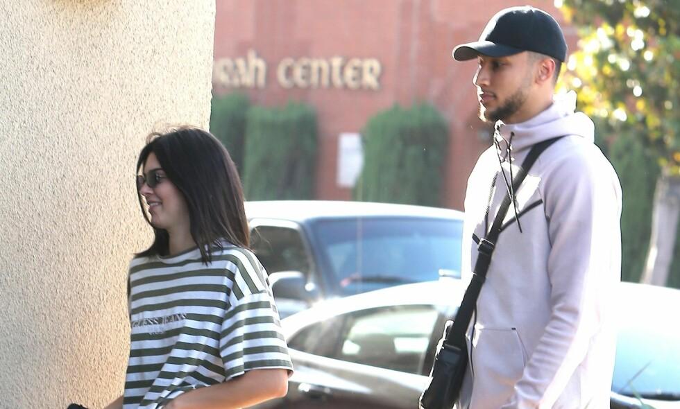 BRUDD: Modell Kendall Jenner og basketballspiller Ben Simmons skal ha gjort det slutt etter fire måneder. Foto: NTB Scanpix