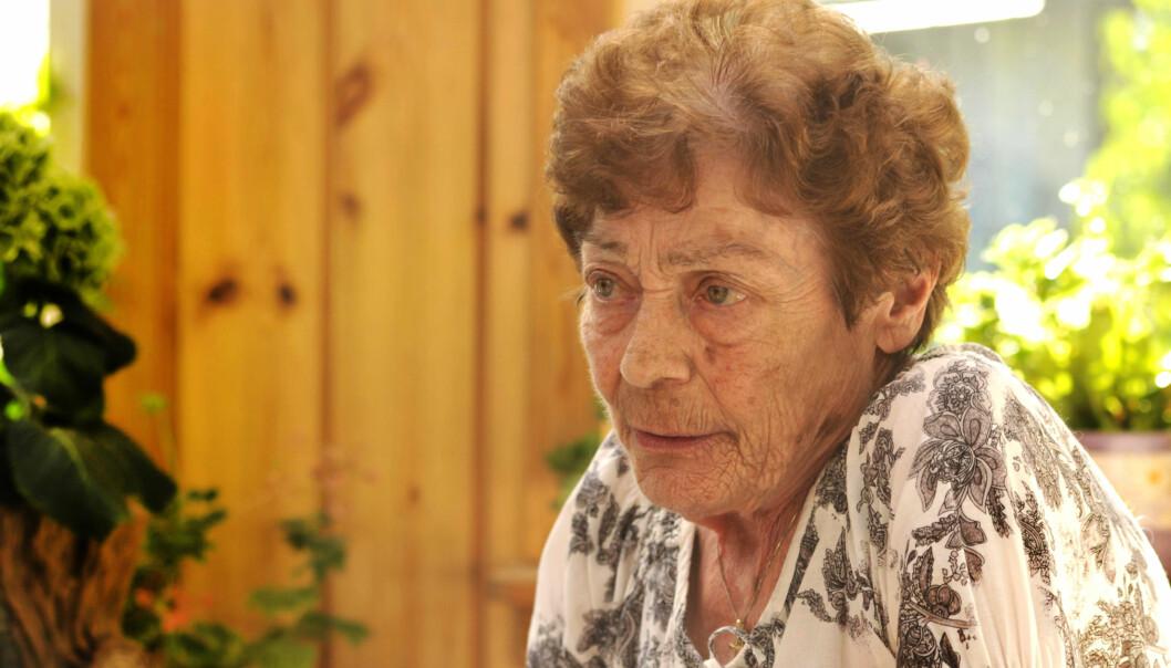 FRATATT SERTIFIKATET: Da Johanne Engebretsen var 66 år gammel ble hun fratatt sertifikatet for nesten ett år, fordi hun ble syk og besvimte av medisiner legen hadde foreskrevet. FOTO: GRY CAT. WOLD