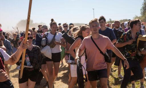 image: Festivaldeltakere gjør fra seg i naboenes hager: - Moralsk forkastelig