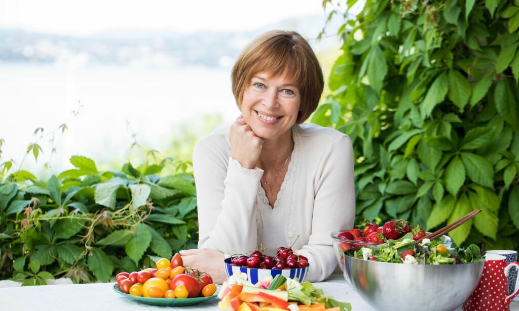 - Vi ønsker ikke at det skal være en generell opfatning om at jordbær skal være farlig å spise, sier Gerd Byermoen. Foto: Marte Garmann / Frukt.no