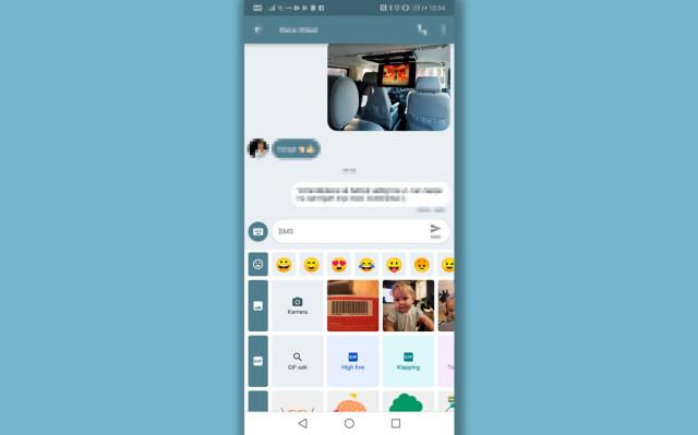 Bytte SMS-app på Android - Du trenger ikke å ta til takke