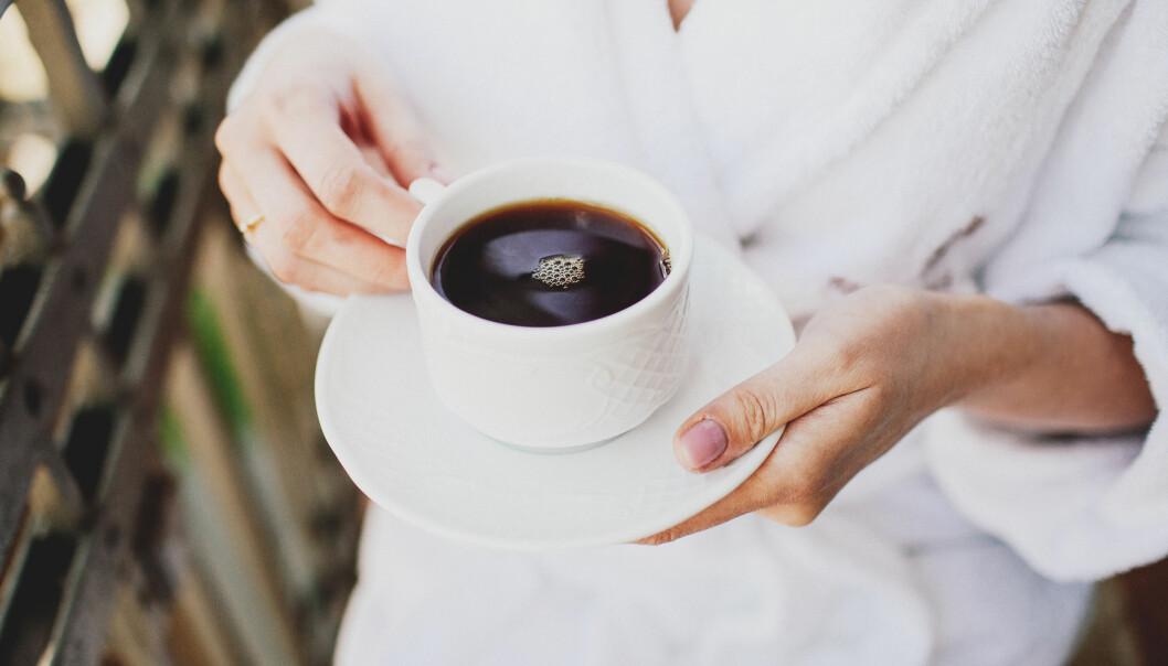 KAFFE: Nylig fant tyske forskere ut at koffeinet kan redusere skadene ved et hjerteinfarkt. FOTO: NTB Scanpix