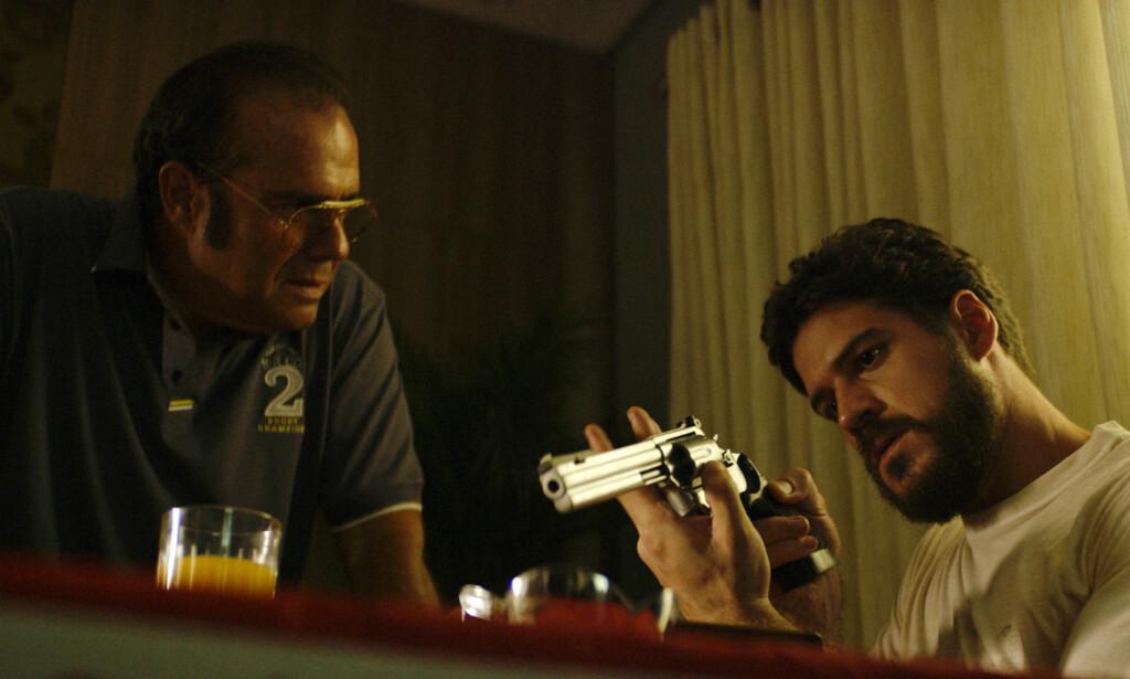 Leiemorder: Marco Piogossi i hovedrollen som Júlio Santana i «O Nome da Morte». Foto: Festival do Rio/ TV Zero