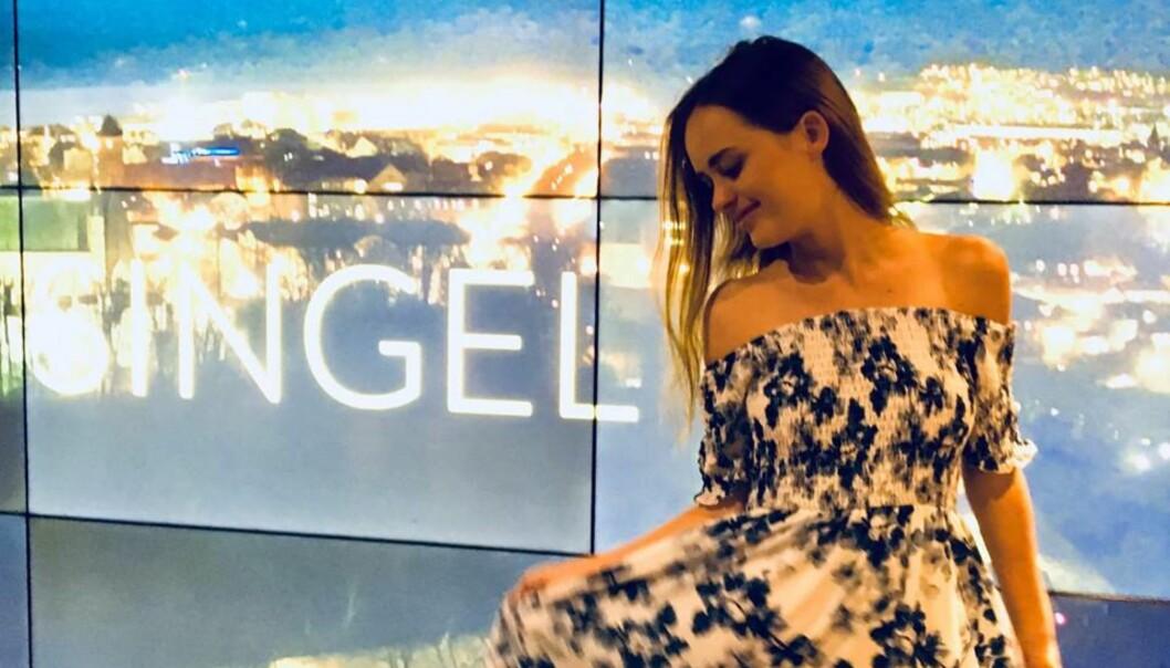 «SINGEL»: Malin er for tiden aktuell i TV2-serien «Singel», hvor hun åpner seg om datinglivet. Foto: Privat