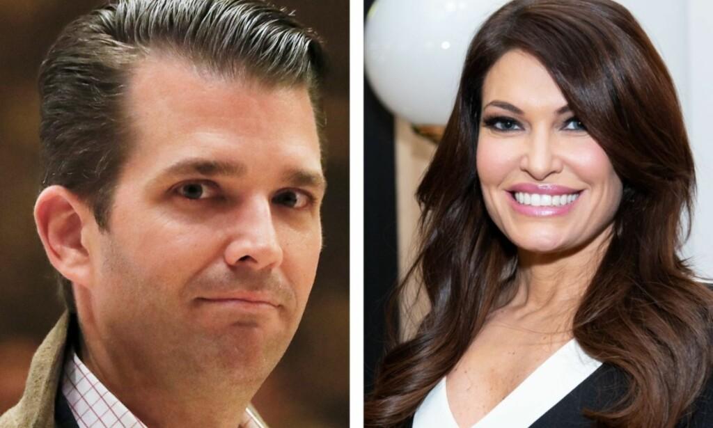 NY DAME: Knappe fire måneder etter at Donald Trump jr. og ekskona annonserte at de skulle skilles, ser det ut til at presidentsønnen har funnet seg ny dame. Foto: NTB Scanpix