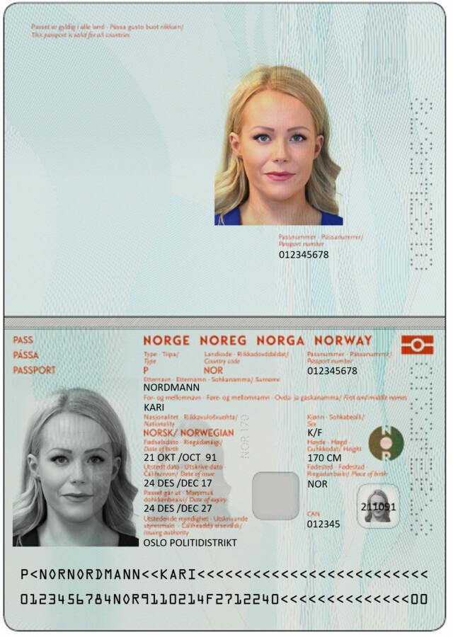 Pass Slik Blir Det Nye Passet Og Id Kortet Ditt Dagbladet