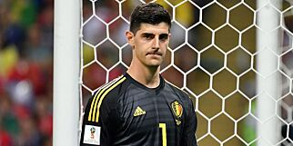 image: Courtois benekter å ha kritisert Pickford for å være lav
