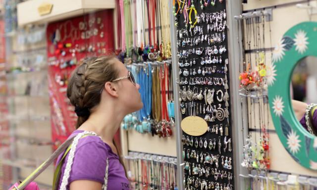08aca1fd IKKE GULL ALT SOM GLITRER: Du kan finne billige merkevarer i utlandet, men  pass