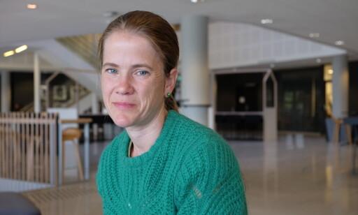 SIER IFRA: Anna-Maja Helgesdotter Andersen sender inn klager til Ruter og Sporveien over en lav sko, men problemene for rullestolbrukere fortsetter. Foto: Marte Klausen