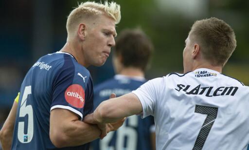 HØY TEMPERATUR: Jakob Glesnes (t.v) og Torgil Gjertsen. Foto: Fredrik Hagen / NTB scanpix