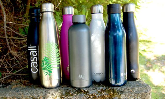 4e33afec TEST AV TERMOFLASKER: Vi har testet hvor gode termoflaskene er til å holde  drikke kald