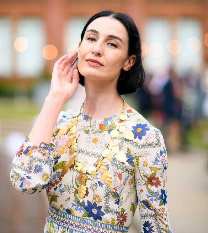 ERIN O'CONNOR: Den britiske modellen liker å bruke hudkremen før hun skal fotograferes. Foto: Scanpix