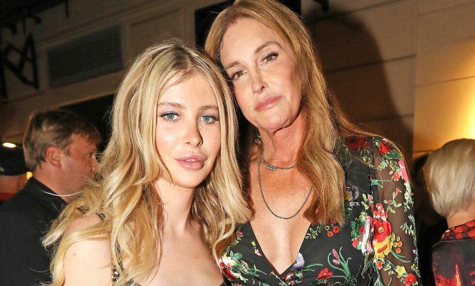 DATER: Caitlyn Jenner og 46 år yngre Sophia Hutchins har funnet kjærligheten. Foto: NTB Scanpix