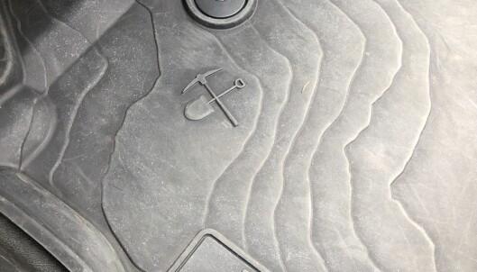 <strong>MORO:</strong> Det er blitt vanlig å skjule små symboler og figurer hos flere bilprodusenter. Jeep bidrear de også. Foto: Rune M. Nesheim