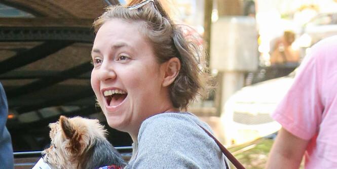 Lena Dunham feirer 11 kilos vektøkning