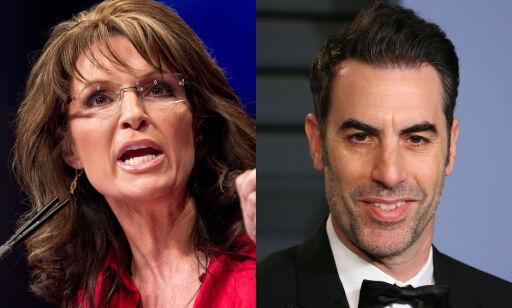 image: Sarah Palin kalte «Borat»-stjerna «syk og ond» etter spøk. Slik svarer han