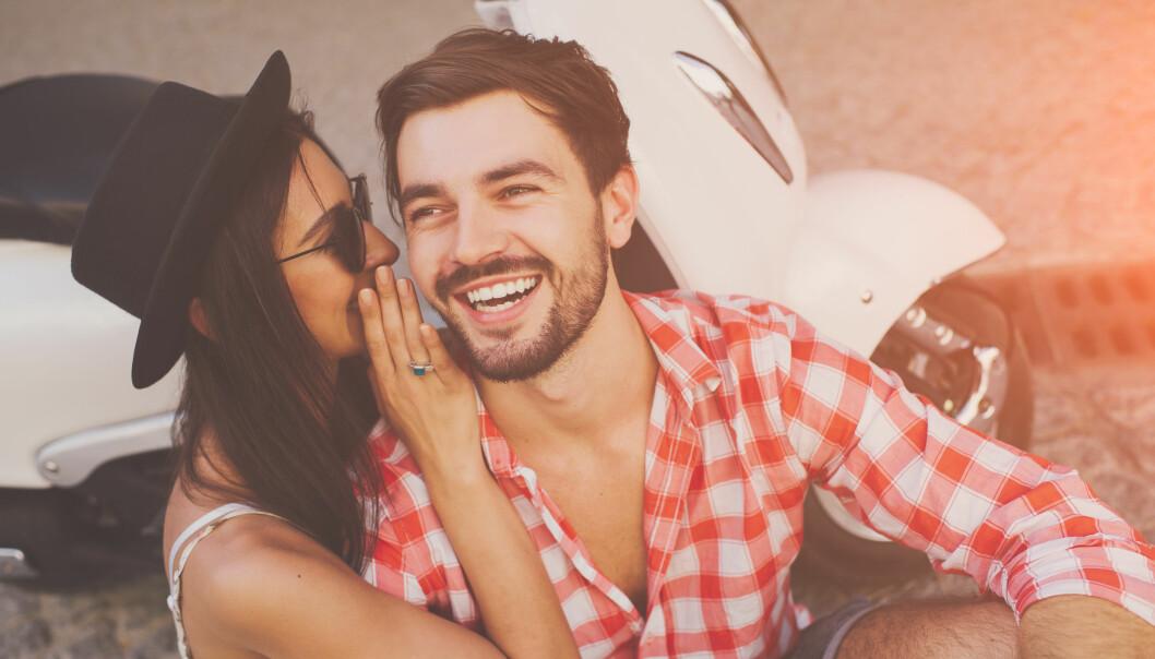 MENN I FORHOLD: Det er bare noe ved ham som er så tiltrekkende... Kanskje det at han har kjæreste? FOTO: NTB scanpix
