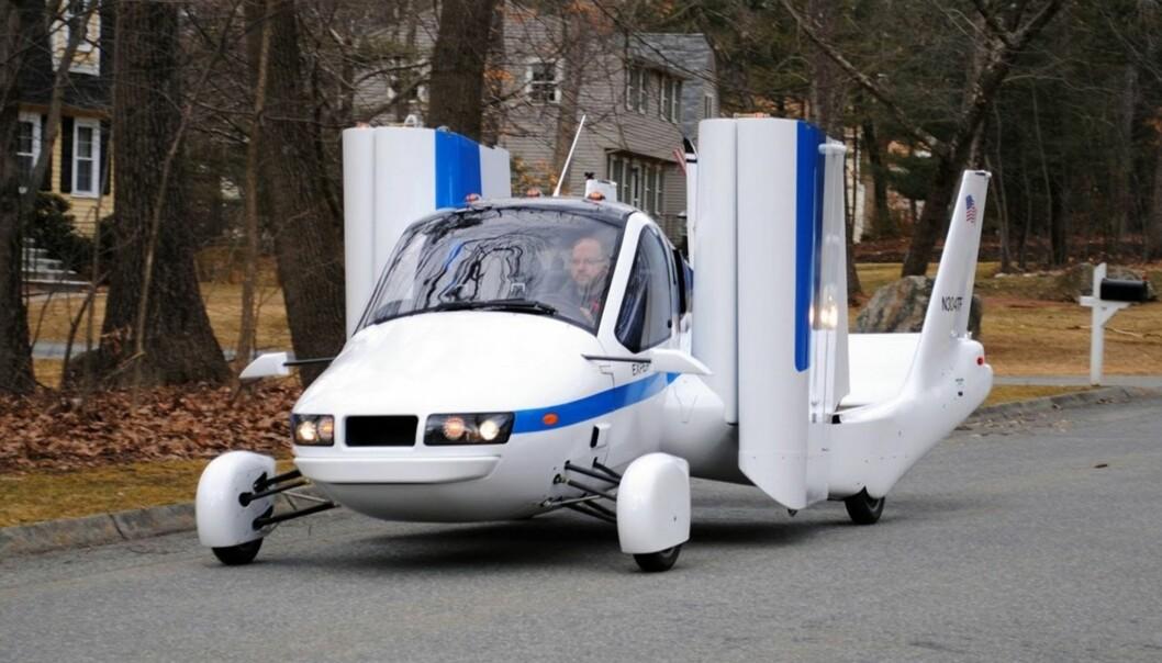 <strong>FLY ELLER BIL:</strong> Geely, som eier Volvo, har kjøpt Terrafugia, og allerede nå kan du reservere en slik flybil for 80.000 kroner. Foto Terrafugia