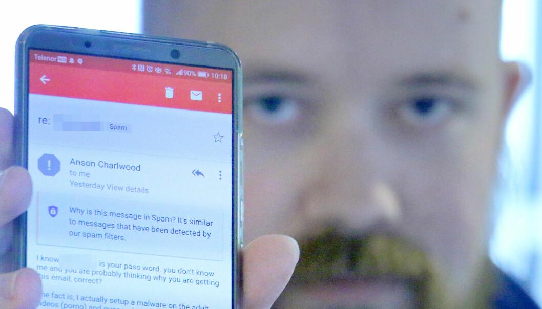 Ny svindelform: Viser deg passordet ditt som bevis for å presse deg for 10 000 kroner