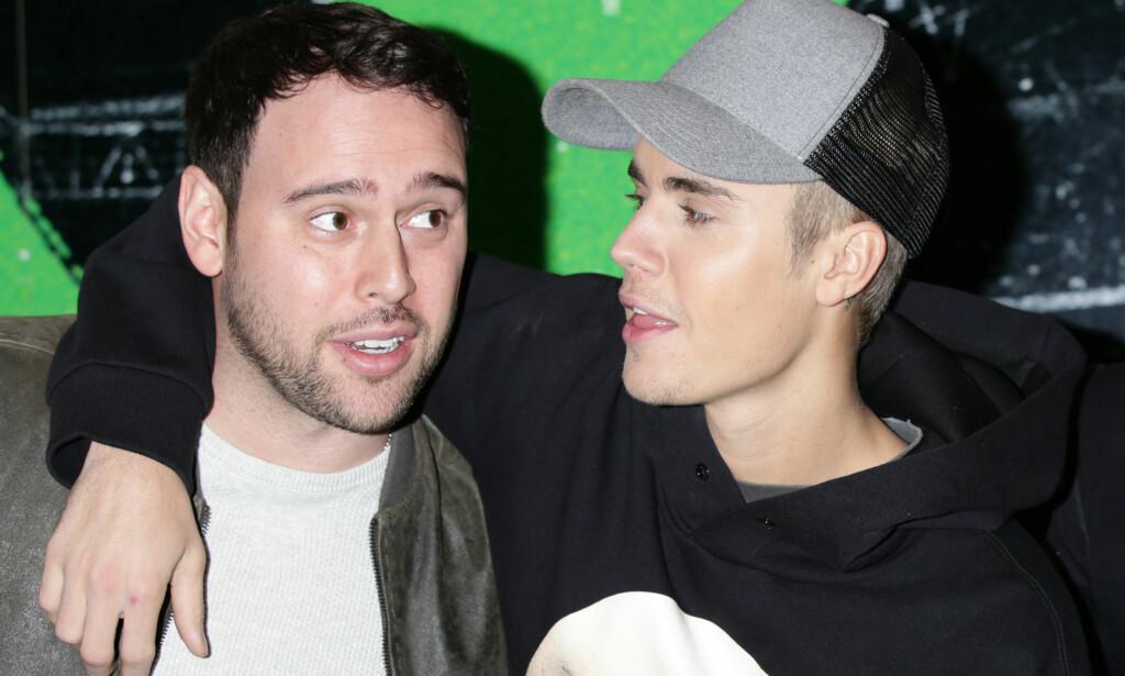 BRUTALT ÆRLIG: Justin Biebers manager, Scott Braun, har kommet med oppsiktsvekkende uttalelser rundt Biebers «skandaleperiode» fra 2013 til 2014. Braun forteller blant annet at han fryktet for artistens liv. Foto: NTB Scanpix