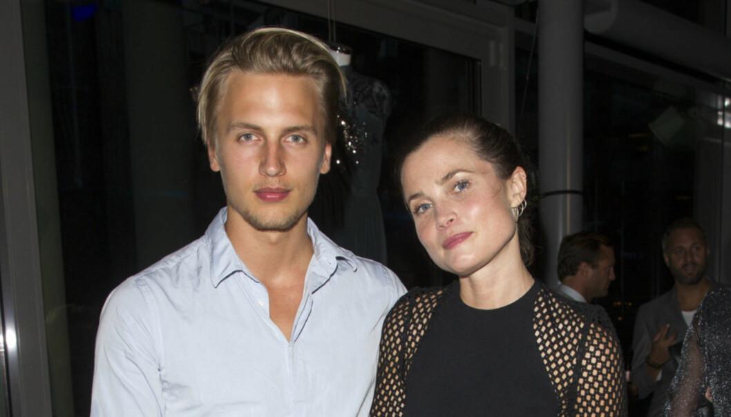SA JA: Gitte og Filip Loebbert ble forlovet lørdag. Det bekrefter førstnevnte via sin Instagram-profil. Foto: Andreas Fadum / Se og Hør