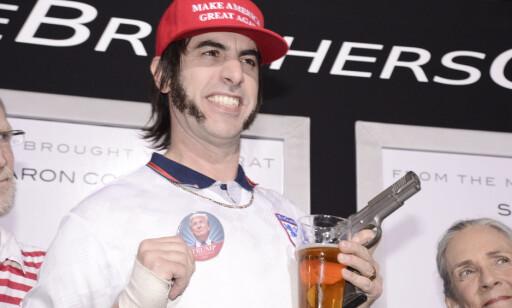 SATIRE: Sacha Baron Cohen er kjent for sine satiristiske humor. Foto: NTB scanpix