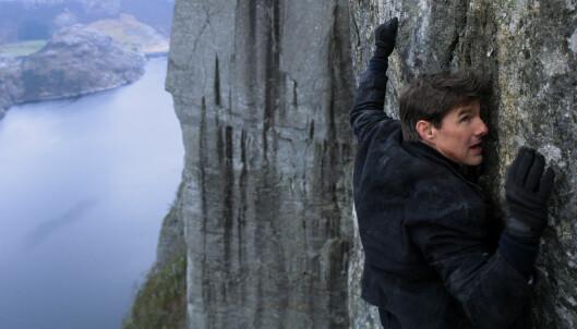 Tom Cruise-film flytter Preikestolen til India