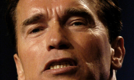 image: Rasende Schwarzenegger sammenlikner Trump med en «liten, våt nudel»