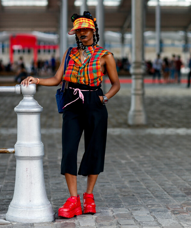 Streetstyle fra Afropunk-festivalen i Paris. Foto: NTB Scanpix