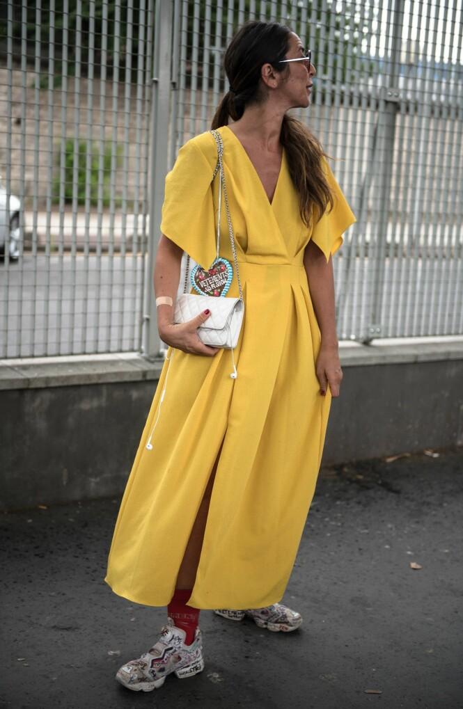 Streetstyle fra Haute Couture Fashion Week i Paris. Foto: NTB Scanpix
