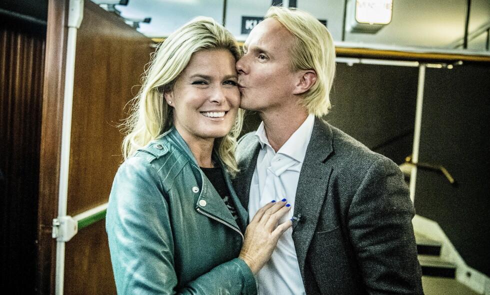 FORELSKET: Vendela Kirsebom er Petter Pilgaards store kjærlighet og på mange måter hans første kjæreste, ifølge ham selv. Foto: Thomas Rasmus Skaug / Dagbladet
