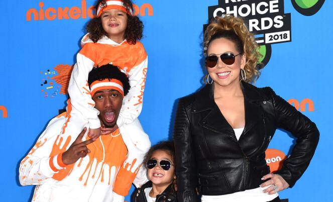 <strong>VENNER:</strong> Mariah Carey og Nick Cannon har bevart vennskapet for barnas skyld. Foto: NTB Scanpix