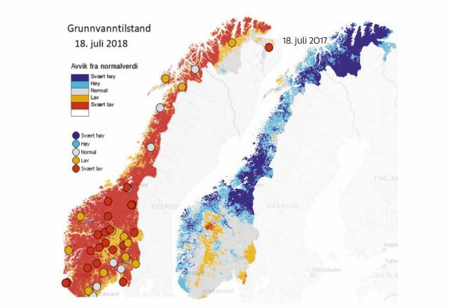 Storste Vannkrisen I Norge Pa 70 Ar Hele Landet Torster Her Er