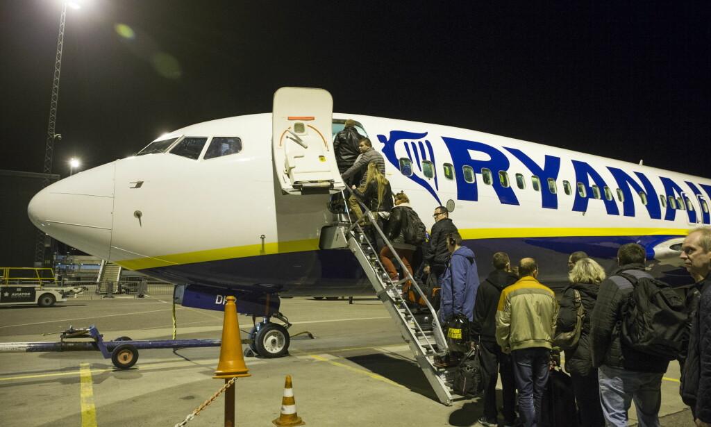 KANSELLERER: Neste uke blir 600 flyvninger kansellert grunnet streik. Foto: Håkon Mosvold Larsen / NTB scanpix