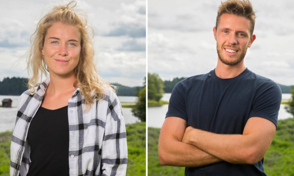 FORLOVET: Sophie Therese og Marius avslørte onsdag at de er blitt forlovet. Foto: TV 2