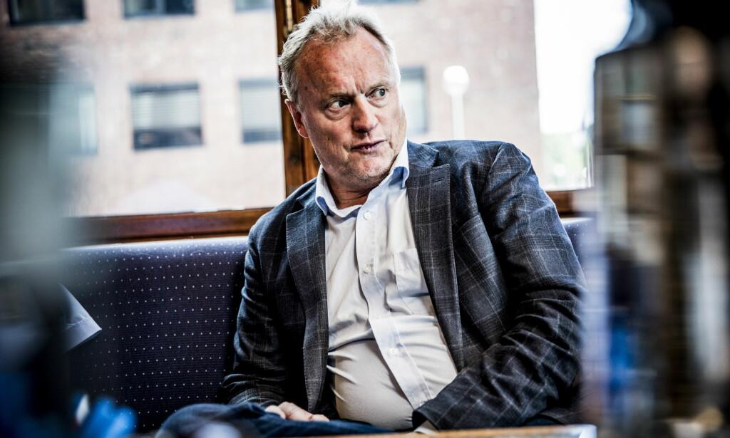 HENLAGT: Varselet som også involverer Raymond Johansen er henlagt. Foto: Christian Roth Christensen / Dagbladet