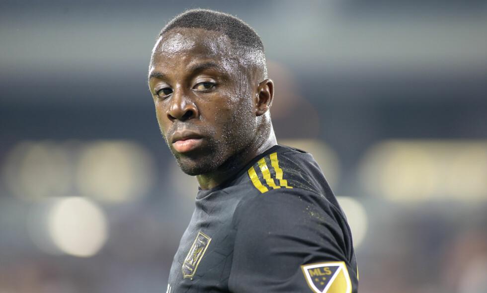 BRENNHET: Adama Diomande står med ni mål på åtte kamper i MLS. Foto: Jevone Moore / CSM / REX / Shutterstock / NTB Scanpix