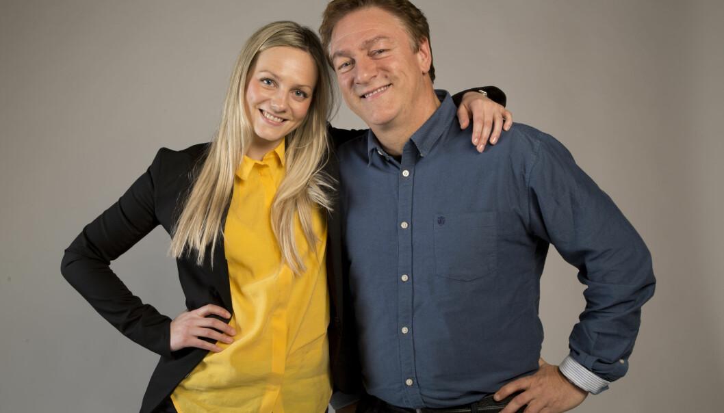 GLEDER SEG: Tor Endresen sier han gleder seg stort til at datteren på 28 år blir mamma for første gang. Foto: Morten Eik / Se og Hør
