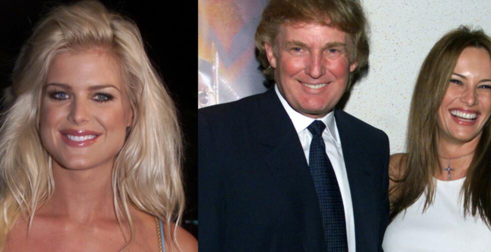 DELER SAMME FORTID: Melania Trump bodde sammen med Svenske Victoria Silvstedt (t.v.) i Paris på midten av 1990-tallet. Foto: NTB scanpix